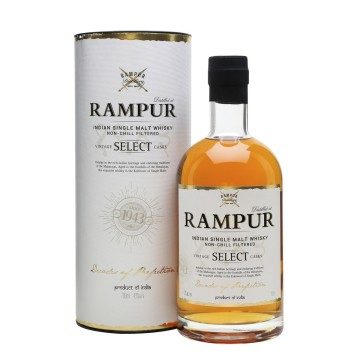 Rampur Indian Single Malt whisky